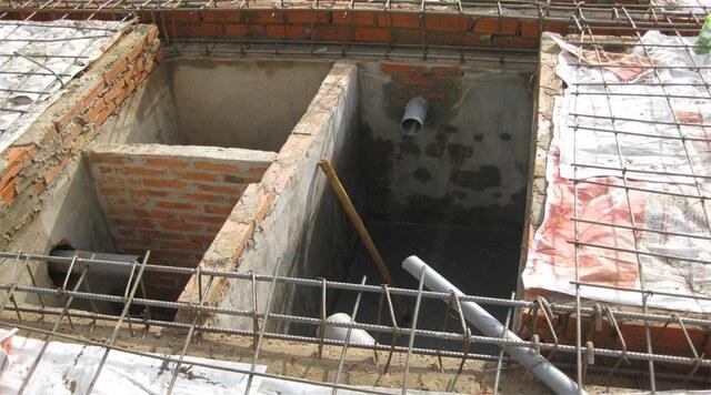 lưu ý khi xây bể phốt cho chung cư